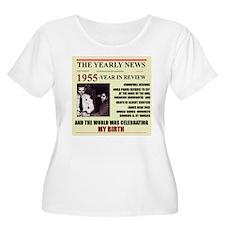 born in 1955birthday gift T-Shirt