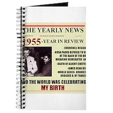 born in 1955birthday gift Journal