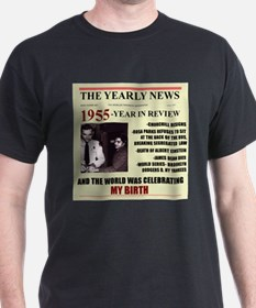 born in 1955birthday gift T-Shirt