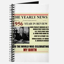 born in 1956 birthday gift Journal