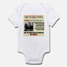 born in 1956 birthday gift Infant Bodysuit