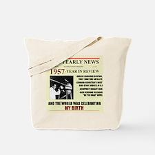 1957-BIRTH Tote Bag