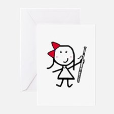 Girl & Bassoon Greeting Cards (Pk of 10)