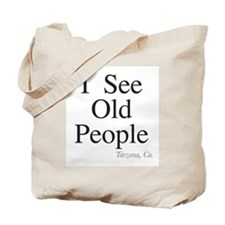 Cool Senior in home care Tote Bag