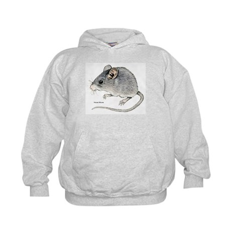 Mouse Rodent (Front) Kids Hoodie