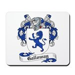 Galloway Family Crest Mousepad