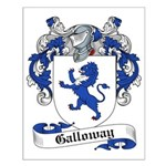 Galloway Family Crest Small Poster