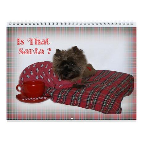 Cairn Terrier Pup Wall Calendar