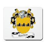 Garden Family Crest Mousepad