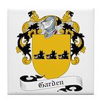 Garden Family Crest Tile Coaster