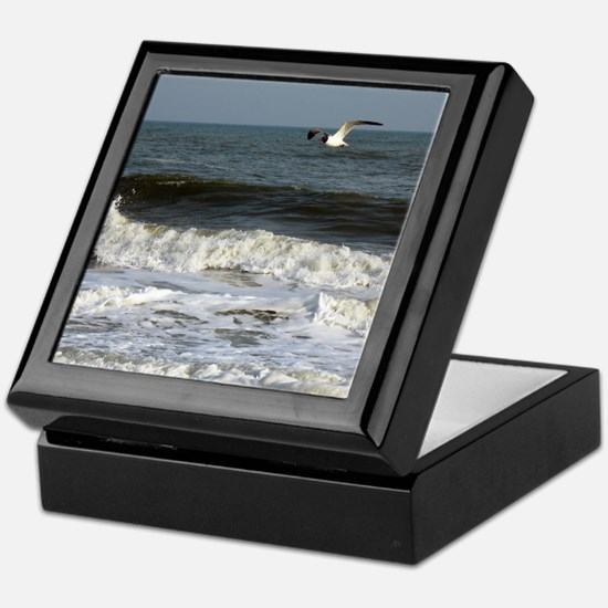 Cute Sea gull Keepsake Box
