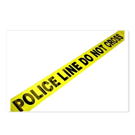 Police Line Postcards (Package of 8)