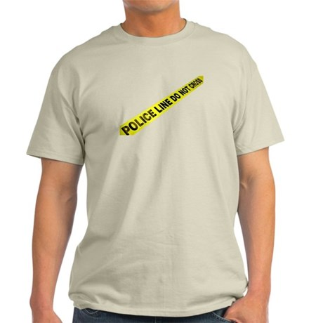 Police Line Light T-Shirt
