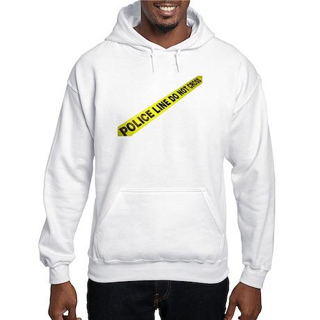 Police Line Hooded Sweatshirt