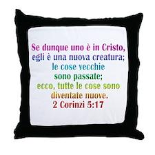 2 Corinthians 5:17 Italian Throw Pillow