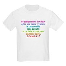 2 Corinthians 5:17 Italian T-Shirt