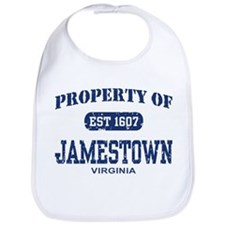 Property of Jamestown Bib