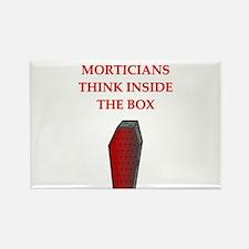 mortician undertaker Rectangle Magnet