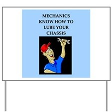car auto mechanic Yard Sign