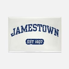 Jamestown Est 1607 Rectangle Magnet