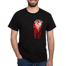 Bleeding Heart. Junkie Style T-Shirt
