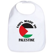 100% Made In Palestine Bib