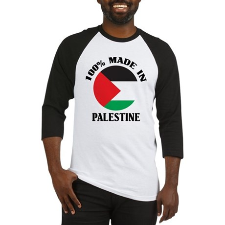 100% Made In Palestine Baseball Jersey