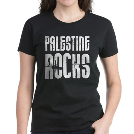 Palestine Rocks Women's Dark T-Shirt
