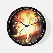 Glad Day Wall Clock