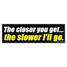 The Closer You Get (sticker)