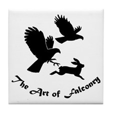 Art of Falconry-HH Tile Coaster