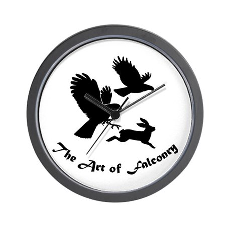 Art of Falconry-HH Wall Clock