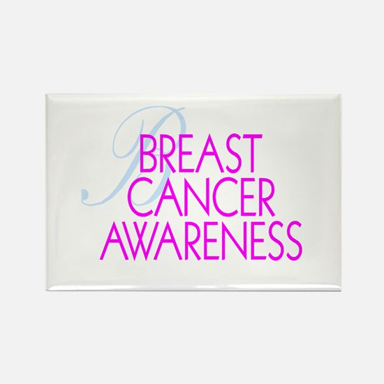 Breast Cancer Awareness Rectangle Magnet