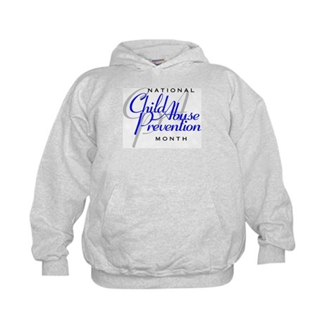 Child Abuse Prevention Kids Hoodie