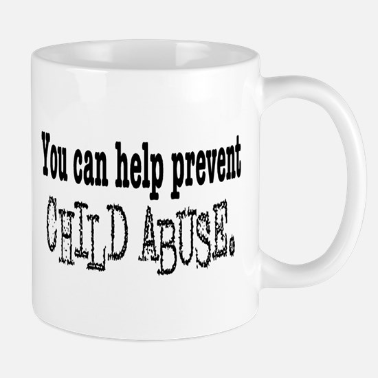 You Can Help Prevent Child Abuse Mug