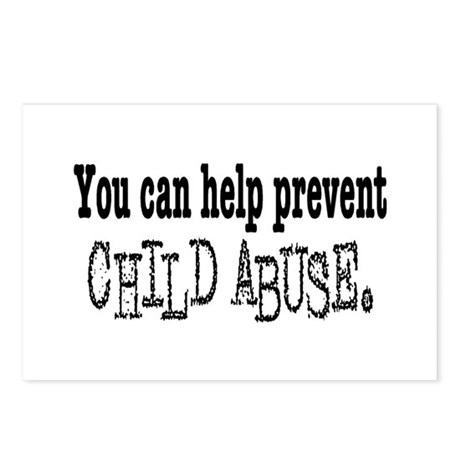 You Can Help Prevent Child Abuse Postcards (Packag