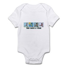 365 days a year (woman) Infant Bodysuit