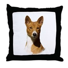 Basenji 9L034D-09 Throw Pillow