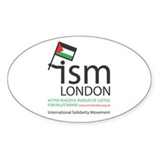 ISM LONDON Oval Decal