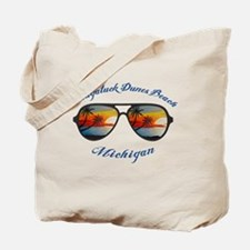Cool Michigan beach Tote Bag