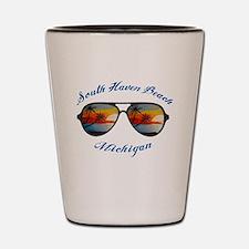 Unique South haven Shot Glass
