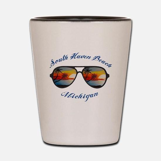 Unique Beach haven Shot Glass