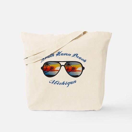 Cute North beach haven beach Tote Bag