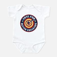 Vote for Better Education Infant Bodysuit