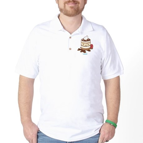 Kawaii Tiramisu Golf Shirt