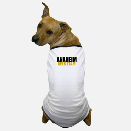 Anaheim Beer Team Dog T-Shirt