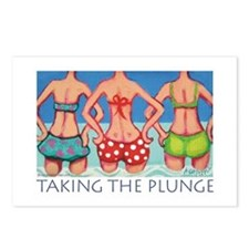 Taking the Plunge - Beach Postcards (Package of 8)