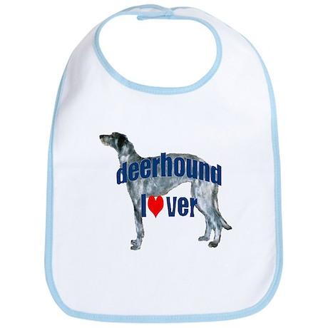 deerhound lover Bib