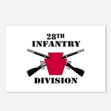 28th Infantry Division (1) Postcards (Package of 8