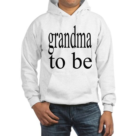 109b. grandma to be [bw] Hooded Sweatshirt